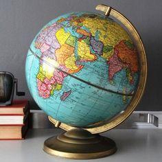 ($100) $78  Mid-Century Globe now featured on Fab.