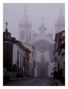 Igreja de Nossa Senhora do Carmo em São João del'Rei    Fotografia de Luciano T. Carmo