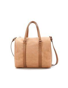 Soft bowling bag shape from Zara. Paling seneng kalo pergi2 dan harus bawa barang banyak pake tas ini