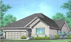 The Spencer Type: Bungalow with Optional Loft, 2-Bedrooms, 2-Car Garage Size: 1,626 sq. ft.