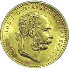Moneda de oro 1 Ducado Austria. Varios años., Tienda Numismatica y Filatelia Lopez, compra venta de monedas oro y plata, sellos españa, accesorios Leuchtturm