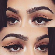 Indian Skin Makeup, Tan Skin Makeup, Natural Eye Makeup, Hair And Makeup Tips, Makeup Blog, Beauty Makeup, Hair Makeup, Makeup Goals, Makeup Inspo