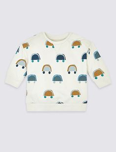 Shop this Organic Cotton Sweatshirt at Marks & Spencer. Browse more styles at Marks & Spencer.Now shoppable with Afterpay* AU Toddler Outfits, Baby Boy Outfits, Smart Casual Shirts, White Trousers, Shirt Shop, Simple Dresses, Organic Cotton, Menswear, Graphic Sweatshirt