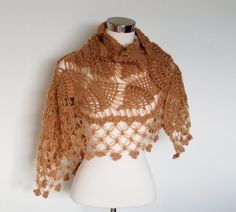 Crochet Shrug Bolero Shawl / Bridal wedding shrug / by MODAcrochet, $79.00
