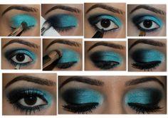 Maquillaje de ojos para la noche paso a paso - Actitud de Mujer