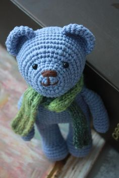 free teddy bear crochet patterns | These teddies, hopefully will live a long and happy life. They are ...