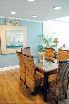i should be mopping the floor: Beach Condo Tour