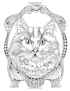 Amazon Inkspirations For Cat Lovers Captivating Coloring Designs Celebrating Fantastic Felines