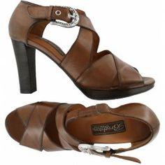b27ffea22 Brighton Vogue Heel in Caramel · Brighton HandbagsBrown Leather SandalsComfortable  ...