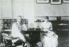 Grand Duke Sergei Alexandrovich Romanov of Russia and Grand Duchess Elisabeth Feodorovna of Russia.A♥W