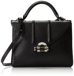 L.A.M.B. Catarina Top Handle Bag Black �