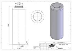 Vertical Tanks | vertical tank volume - Nel Tanks