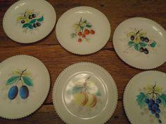 Vintage Westmoreland Fruit Plate