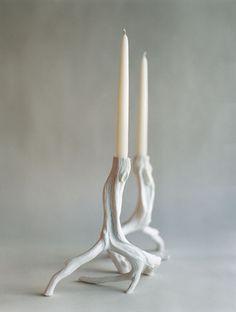 Ted Muehling candlesticks.