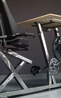 Forget Standing Desks: Here's One You Pedal To Power Your Gadgets | Co.Exist | ideas + impact