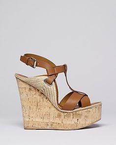 Ralph Lauren Collection Platform Wedge Sandals - Fimesa High Heel | Bloomingdale's