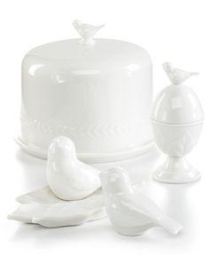 Bird cake stand - Martha Stewart