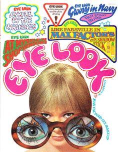 Max Factor 'Eye Look' makeup advertisement, Nova, April 1968 Vintage Makeup Ads, Vintage Ads, Vintage Beauty, 70s Makeup, Retro Makeup, Vintage Hippie, Vintage Magazines, Vintage Fashion, Kitsch