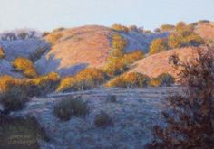 Oaks & Sage 5x7 -- George Lockwood