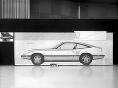 1971 Mustang II tape drawing