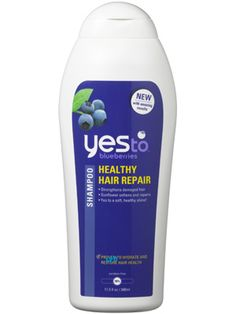 Yes to Blueberries Healthy Hair Repair Shampoo: Hair Care....leaves hair incredibly shiny