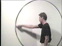 James Nares Giotto Circle #2, 1990 Hi8 video transferred to digital video Color, sound 3 minutes 16 seconds