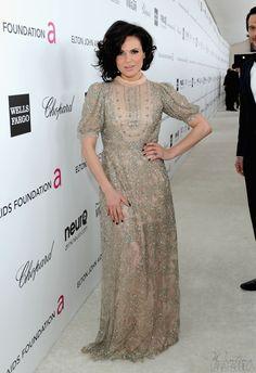 Lana Parrilla at Elton John's Oscars Party
