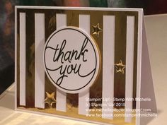 Stampin' Up! - Stamp With Michelle: Tin of Cards Project Kit
