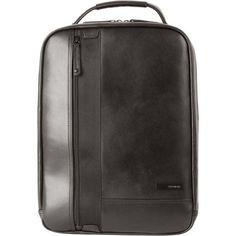 Samsonite Mover Leather Laptop Backpack in Black | Buy Laptop Cases & Bags