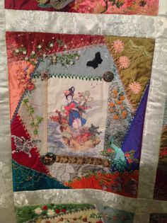 Block 6 Asian Riches ..Design by Gloria Mckinnon.. stitched by Avis Withers