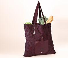 Praktisch für den spontanen #Einkauf: #faltbarer #Shopper für €7,95 bei #Tchibo