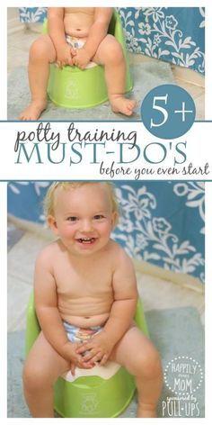 5 Potty Training Must-Do's Before You Start