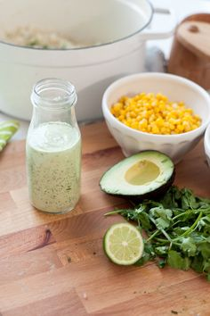 Flavorful Chipolte Chicken Bowl with Cilantro Lime Rice and Avocado Lime Dressing!