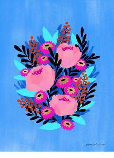 Anemone Print
