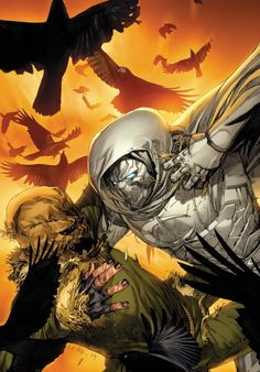 Moon knight vs. The Scarecrow