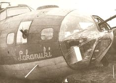 "USAAF - B-17F ""Lakanuki"" - Serial # 42-5827 18 missions, First 6/11/43 and last 1/5/44"