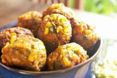 Healthy Baked Corn Vegetable Fritters