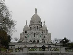 Sacre Coure (The Church on the Hill), Paris