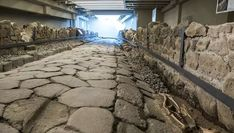 McDonald's Preserves An Ancient Roman Road Underneath Its Structure