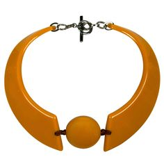 Armani Resin Collar Necklace | From a unique collection of vintage more necklaces at https://www.1stdibs.com/jewelry/necklaces/more-necklaces/