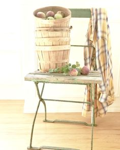Early Fall at the Farmhouse — Little Farmstead Apple Baskets, Large Baskets, Fall Friends, Fall Vignettes, Carriage Doors, Linen Towels, Early Fall, Craft Shop, Fall Decor