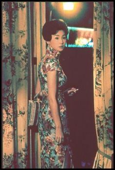 Maggie Cheung extremely stunning in cheongsam