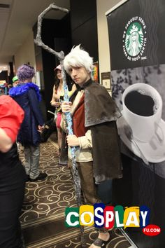 Jack Frost Cosplay from Rise of the Guardians in Con-G: Guelphs Anime and Geek Culture Convention 2013 CA