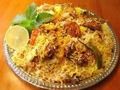 pakistani food baryani for-the-home