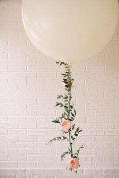 Floral garland balloons would be perfect for a dreamy bridal shower.