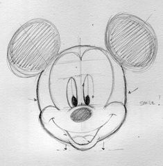 How to draw Disney characters: Mickey Mouse (part 2)