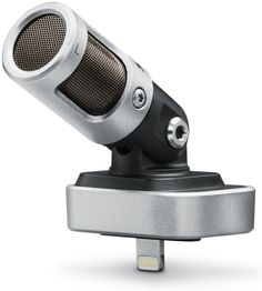 Mid-Side Digital Microphone with Lightning Connector and 5 DSP Preset Modes