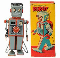 mayahan: Space-Age Packaging Design - The Groovy Archives Robots Vintage, Retro Robot, Retro Toys, Toy Packaging, Brand Packaging, Packaging Design, Vintage Packaging, Label Design, Vintage Labels