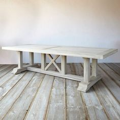 Protected Teak Country Dining Table | Terrain