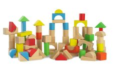 Little Tikes blocks with a shape sorter lid - ASDA